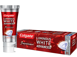 Colgate<sup>®</sup> Luminous White Advanced