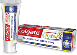 Colgate<sup>®</sup> Total 12 Professional Whitening